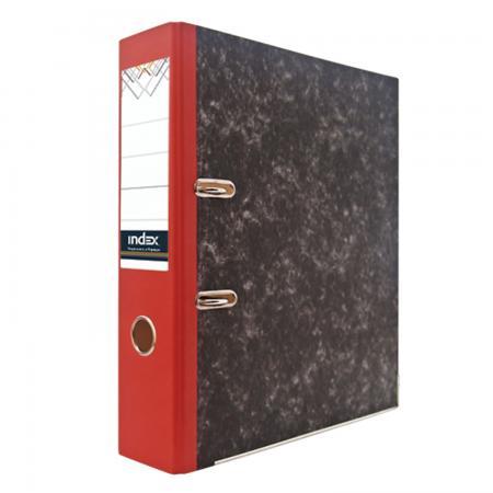 Папка-регистратор под мрамор, 80 мм, А4, корешок красный IND 8 BH КР/50 bh скатерть orlando 140х180 см 8 180org