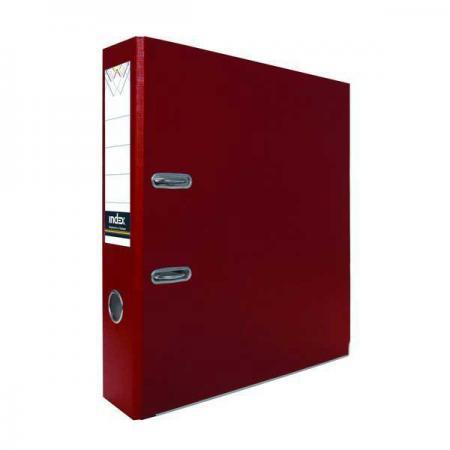 Папка-регистратор с покрытием PVC, 50 мм, А4, бордовая IND 5/30 PVC БОРД lacywear dg 5 ind