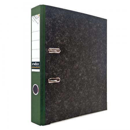 Папка-регистратор под мрамор, 50 мм, А4, корешок зеленый IND 5 BH ЗЕЛ/30 lacywear dg 5 ind