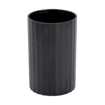 Офисная стакан-подставка для канц. принадлежностей ГРАНД, черная СН21 канцелярия стамм подставка стакан офис