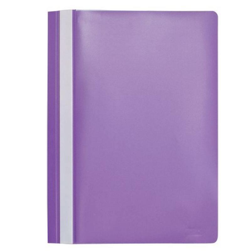 Папка-скоросшиватель, А4, фиолетовая I200/V