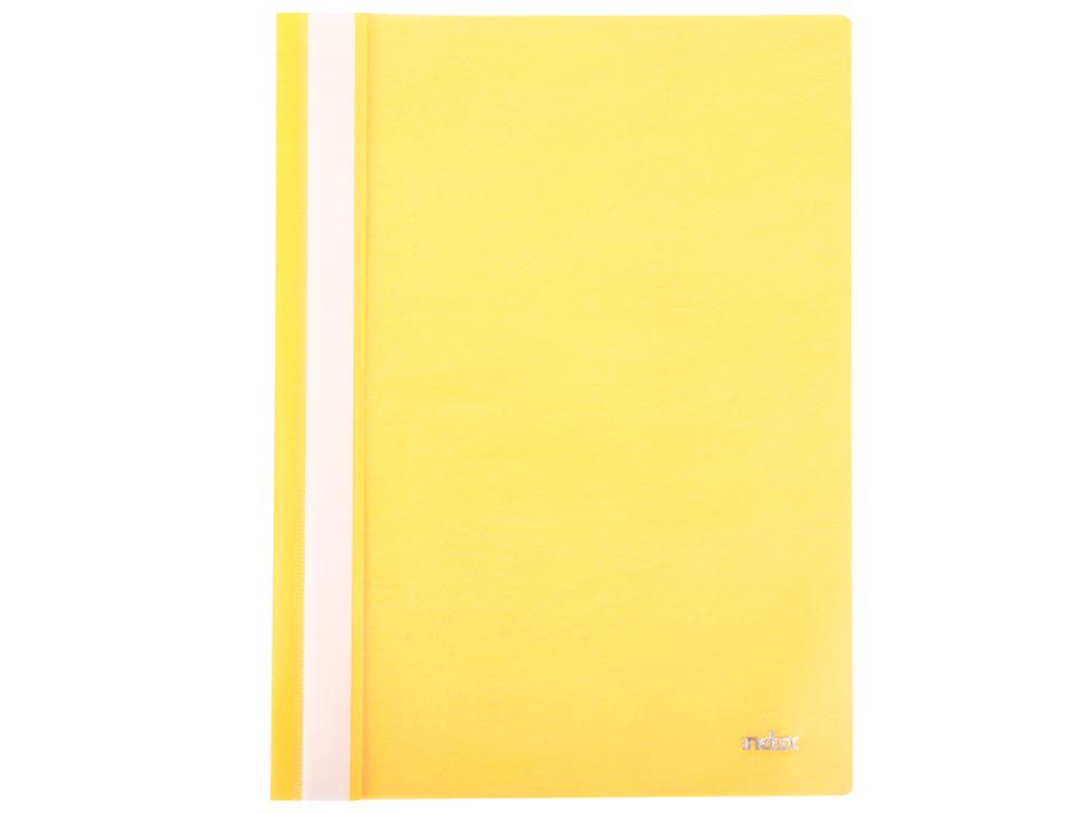 Папка-скоросшиватель, А4, желтая I200/Y папка duraclip color а4 желтая