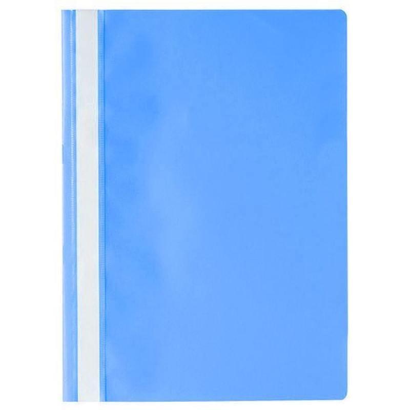 Папка-скоросшиватель, А4, темно-синяя I200/DB