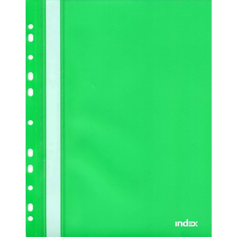 Папка-скоросшиватель с европланкой, А4, зеленая 319/02/R папка скоросшиватель с европланкой ф а4 синяя