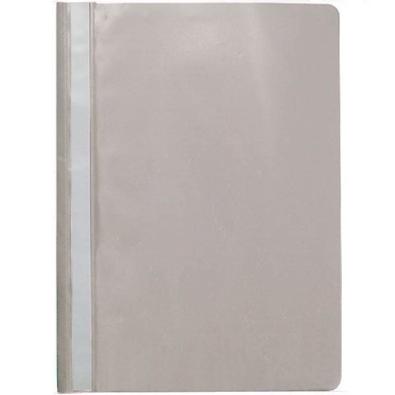 Папка-скоросшиватель, серая, ф. А4 KS-320BR/04 папка скоросшиватель салатовая эконом ф а4 ks 320br 14 spec
