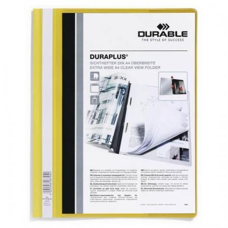 Папка-скоросшиватель DURAPLUS, желтая, ф.А4 vktech 6mmx32mm 120 degree durable solid router cnc engraving v groove bit burin