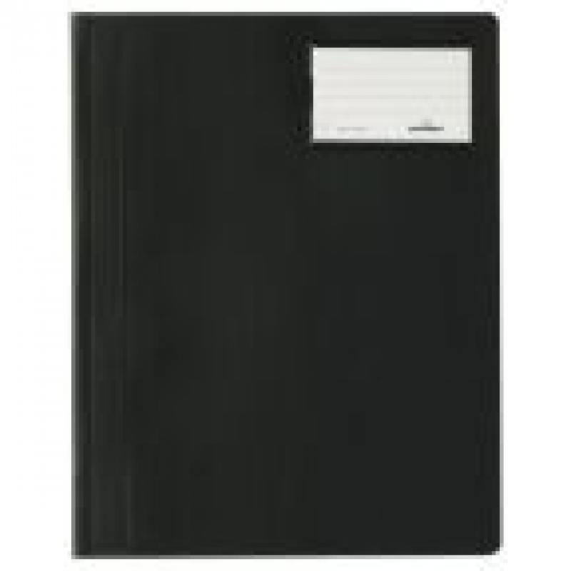 Папка-скоросшиватель MANAGEMENT FILE, инфо-окно, черная