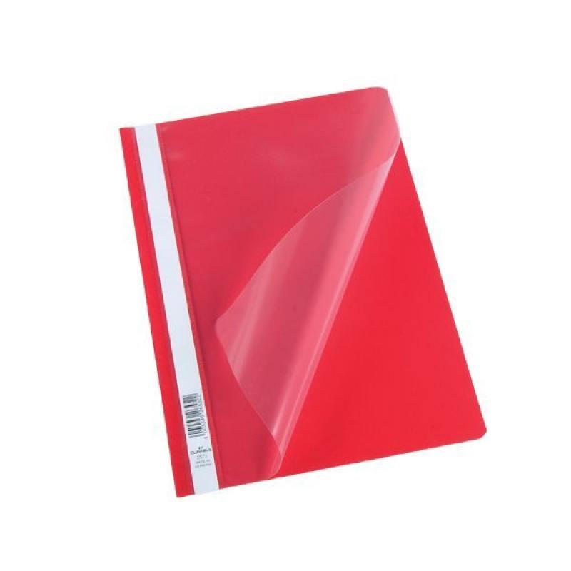 Папка-скоросшиватель, красная, ф. А4, штрих-код baox w288 беспроводной сканирующий пистолет красный штрих код