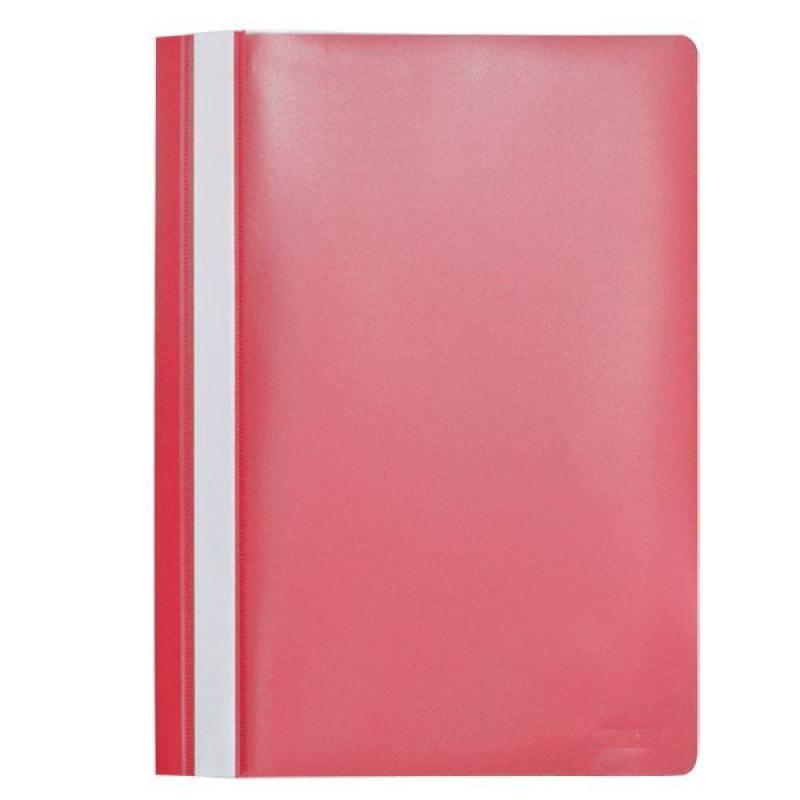 Папка-скоросшиватель, А4, красная I200/RD