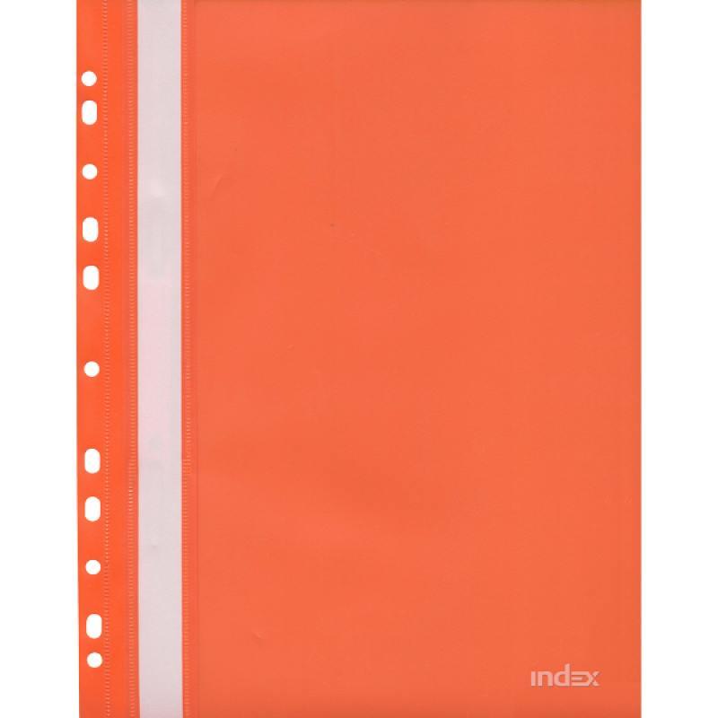 цены Папка-скоросшиватель с европланкой, А4, оранжевая 319/06/R