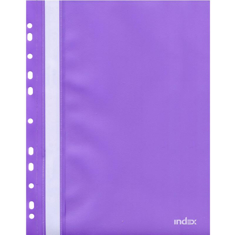 Папка-скоросшиватель с европланкой, А4, фиолетовая 319/11/R папка скоросшиватель с европланкой ф а4 синяя