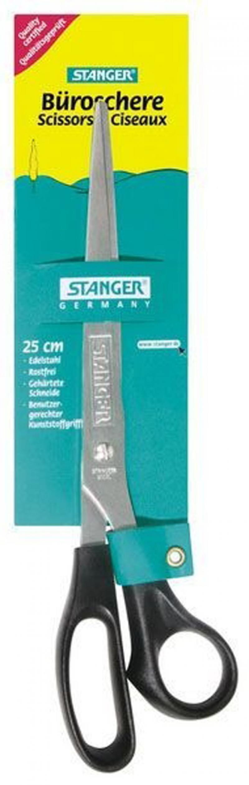 Ножницы, 25,5 см, с европодвесом 34100 ножницы stanger 34103 12 5 см