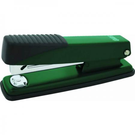 Степлер, скоба №24/6, на 20 листов, металлический корпус, зеленый степлер скоба 24 6 на 20 листов металлический корпус черный ims310 bk
