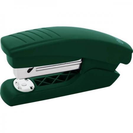Степлер, скоба №24/6, на 15 листов, пластиковый корпус, зеленый степлер index ims310 gy 20 листов