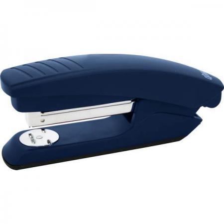 Степлер, скоба №24/6, на 20 листов, пластиковый корпус, синий
