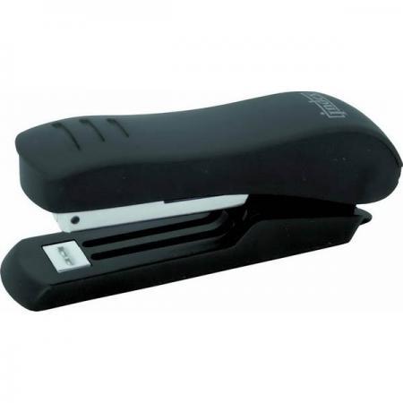 Степлер, скоба №10, на 15 листов, пластиковый корпус, черный степлер скоба 10 на 10 листов пластиковый корпус черный
