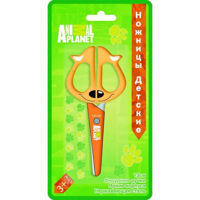 Ножницы детские Action! ANIMAL PLANET 13 см в ассортименте AP-ASC210
