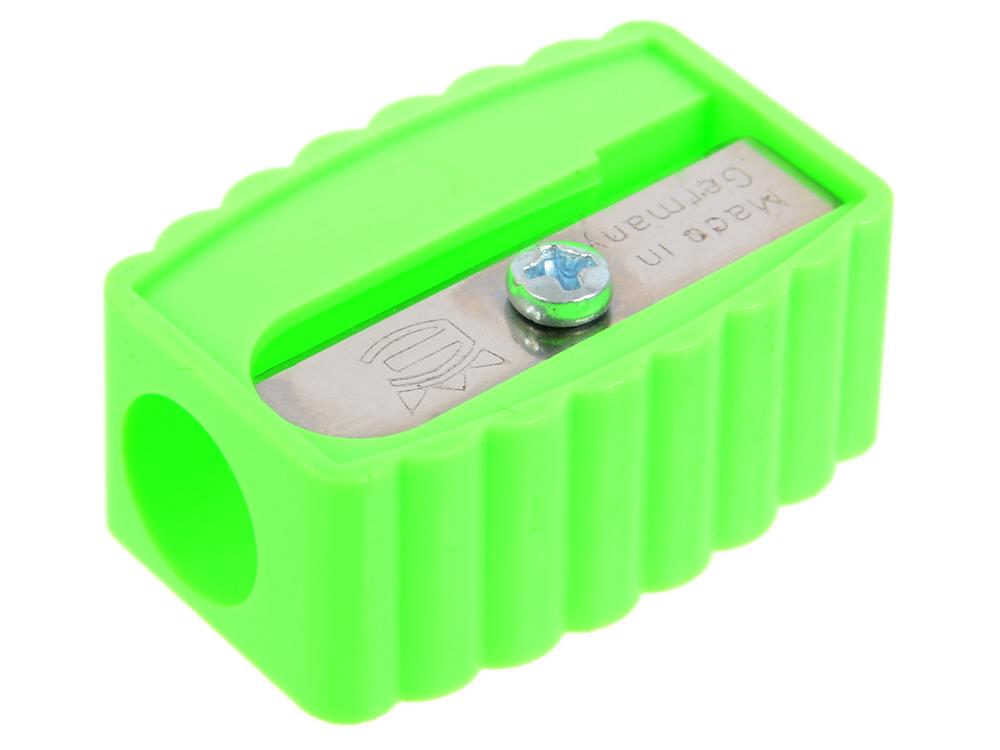 Точилка пластмассовая, прямоугольная форма 106.01.999 точилка пластмассовая клиновидная форма 104 01 999