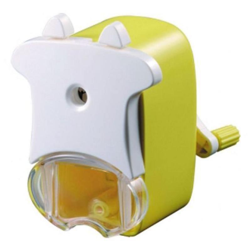 Точилка механическая Коровка ACTION!, пластиковый корпус, блистер c е/подвесом, ассорти 4 цвета ASH6 канцелярия action механическая точилка улитка