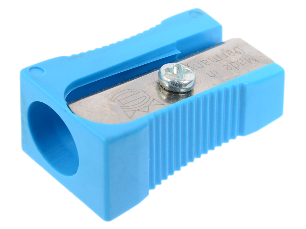 Точилка пластмассовая, клиновидная форма 104.01.999 точилка пластмассовая клиновидная форма 104 01 999