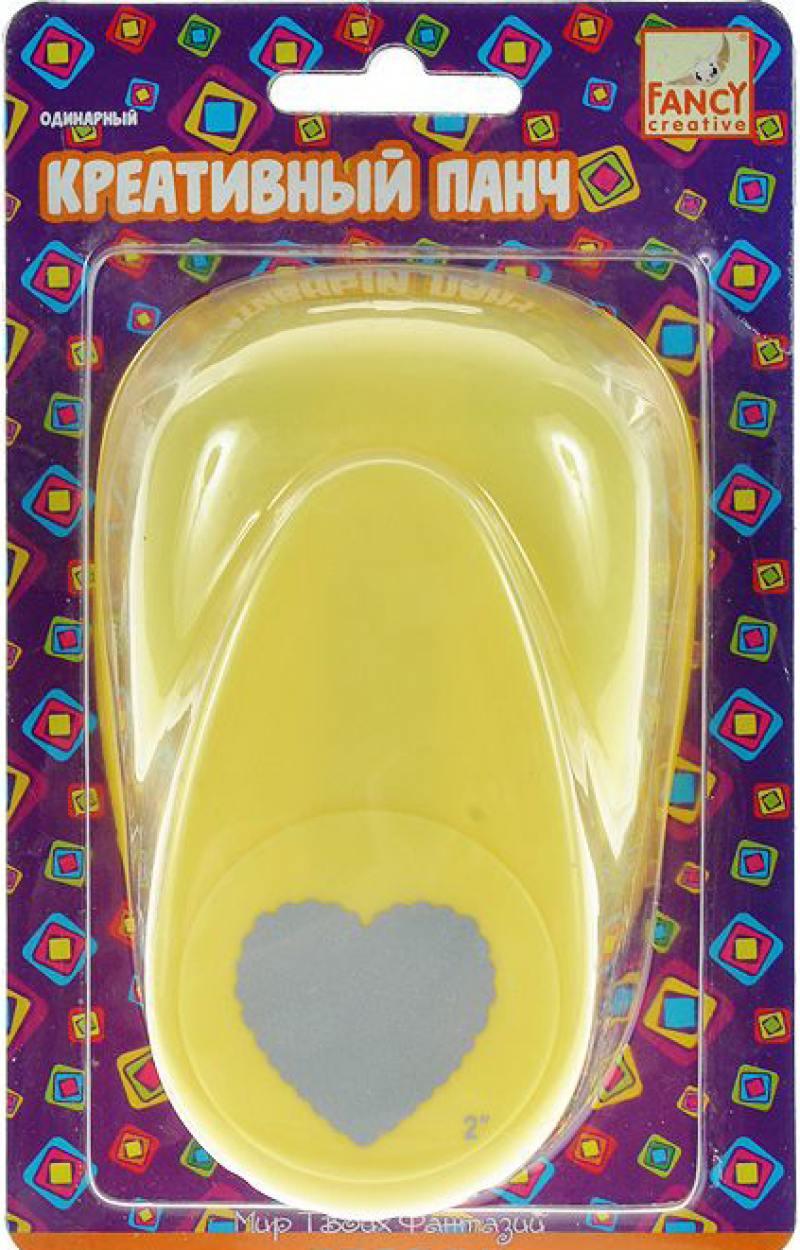 Фигурный дырокол Fancy Creative Сердечко 1 лист FDP500/1 одинарный FDP500/1 детское автокресло actrum bxs 208