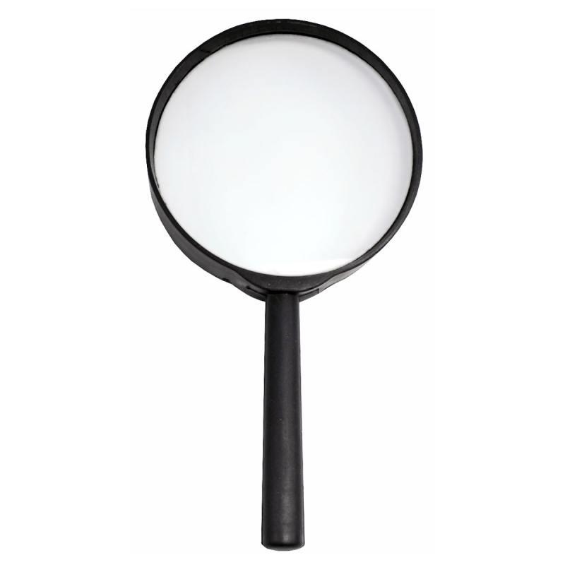 Лупа канцелярская, диаметр 75 мм, увеличение 3 SMG02 лупа дактилоскопическая zenit лд 3 5x