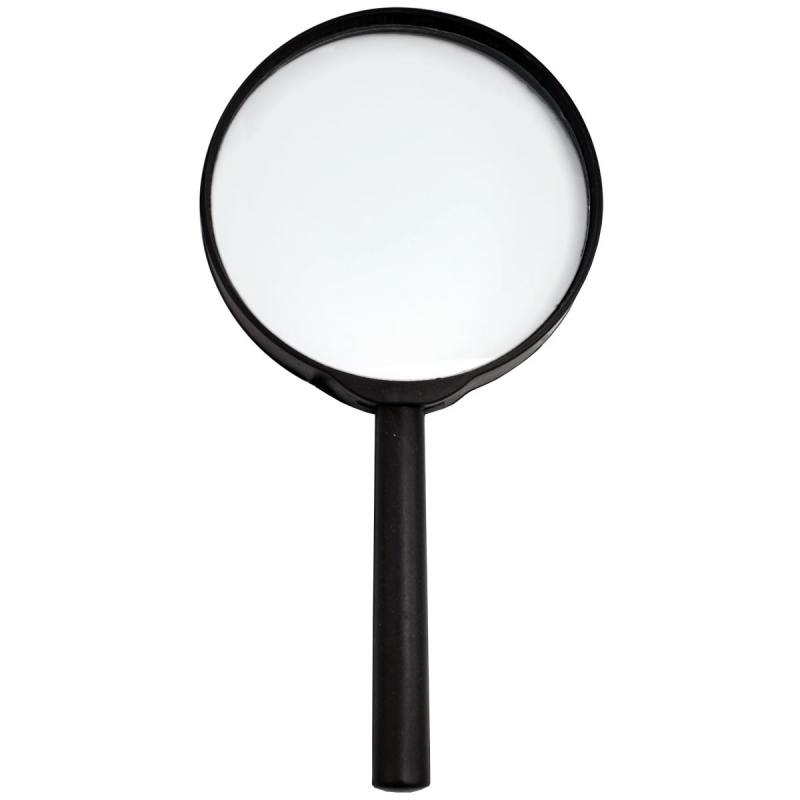 Лупа канцелярская, диаметр 90 мм, увеличение 3 SMG03 лупа дактилоскопическая zenit лд 3 5x