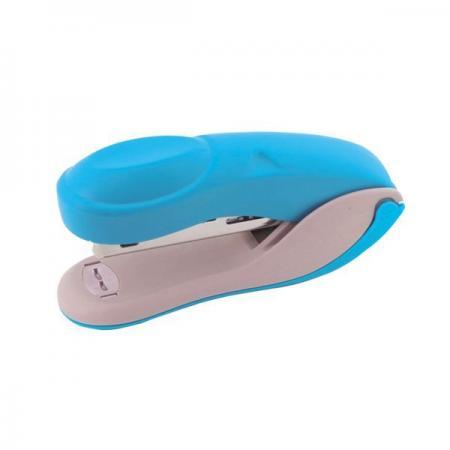 Степлер COLOURPLAY, скоба №24/6, на 20 листов, пластиковый корпус, неоновый голубой ICS610/BU степлер index ics610 pl 20 листов