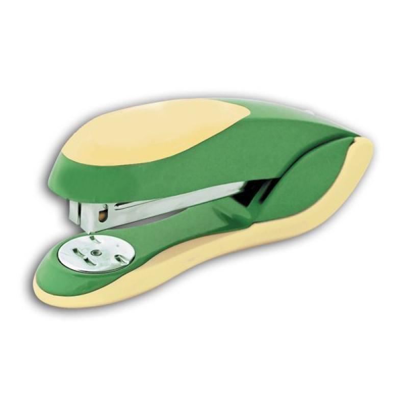 Степлер FUSION, скоба № 24/6, на 20 листов, металлический корпус, зеленый/желтый IFS720GN/YL степлер скоба 24 6 на 20 листов металлический корпус черный ims310 bk