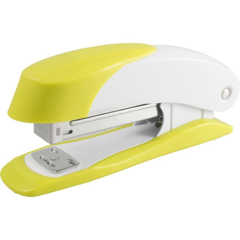 Степлер Н400, скоба №24/6, сшивает до 20 листов, желтый 2630125 степлер sн486 скоба 24 6 сшивает до 20 листов светло серый 2631307