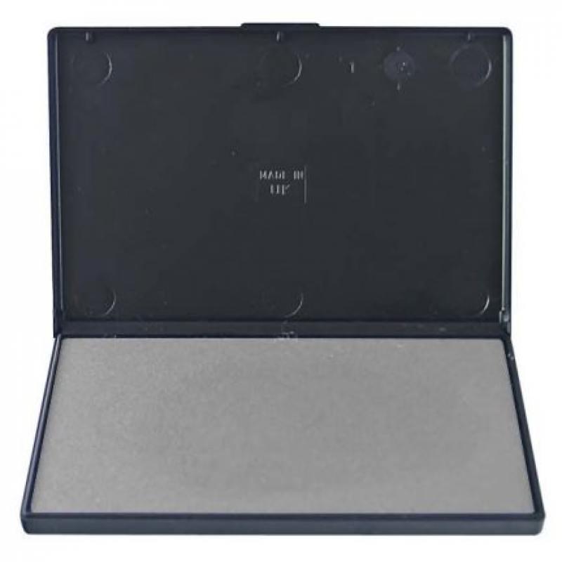 Штемпельная подушка, неокрашенная, разм. 11х7 см trodat штемпельная подушка цвет черный 11 х 7 см