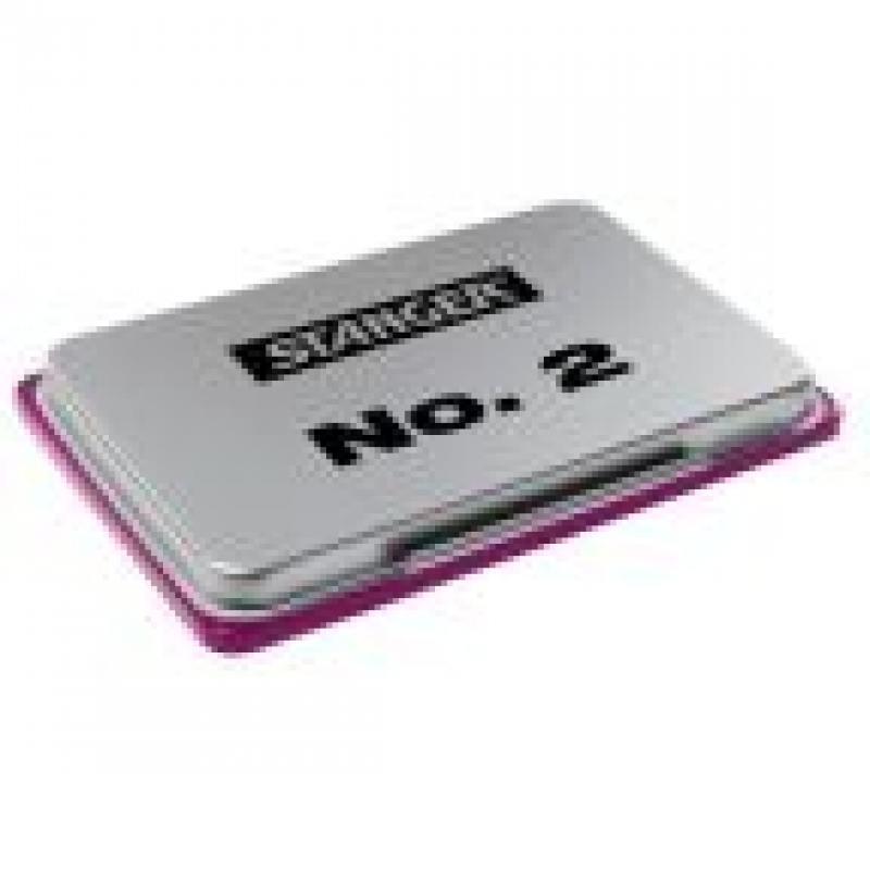 Штемпельная подушка, фиолетовая, размер 7х11 см 18-01-402 ножницы stanger 34103 12 5 см