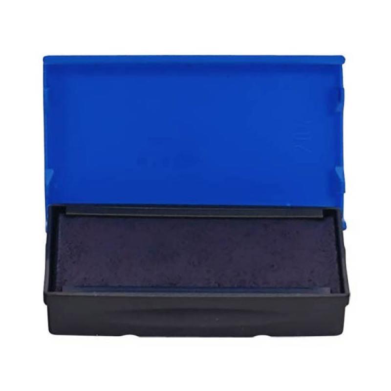Сменная штемпельная подушка, синяя, к арт. 4911, 4951, 4820, 4846 6/4911С trodat штемпельная подушка цвет черный 11 х 7 см