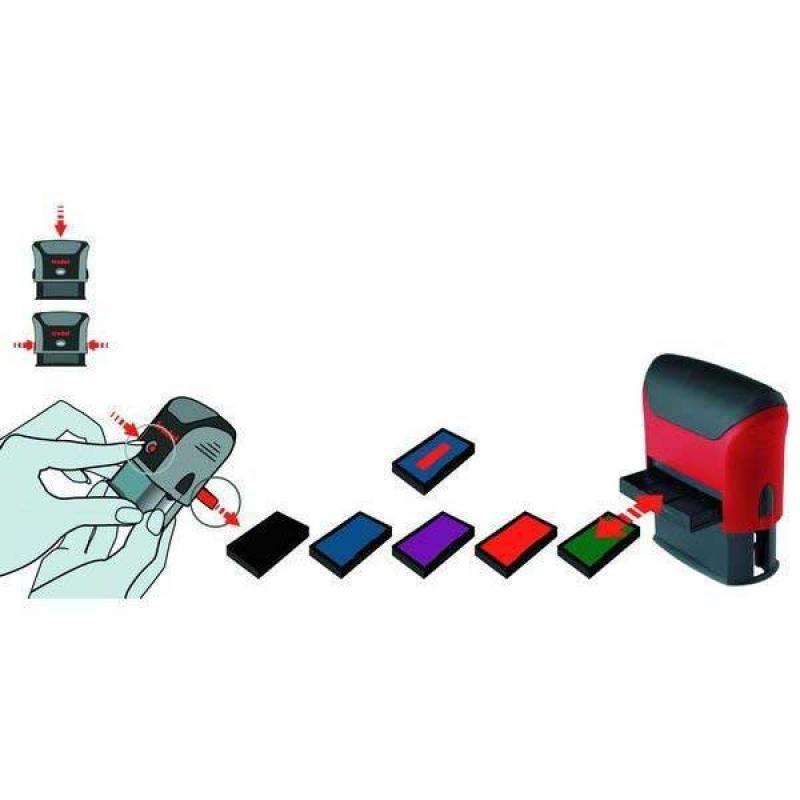 Сменная штемпельная подушка, фиолетовая, к арт. 46045 6/46045Ф