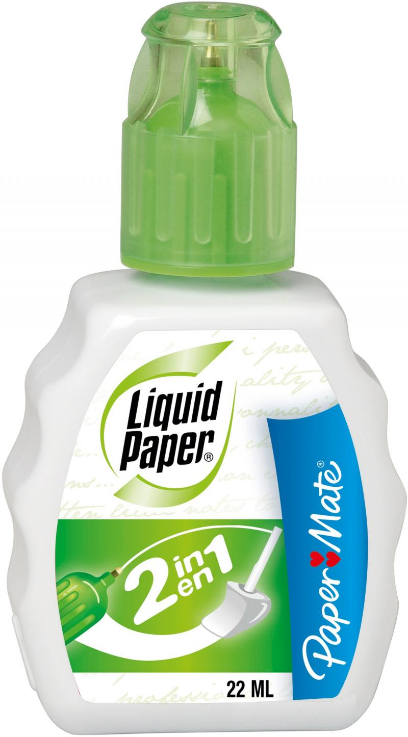 Корректирующая жидкость Paper Mate Liquid Paper 2 in 1 22 мл S0900151 g shapiro nietzschean narratives paper