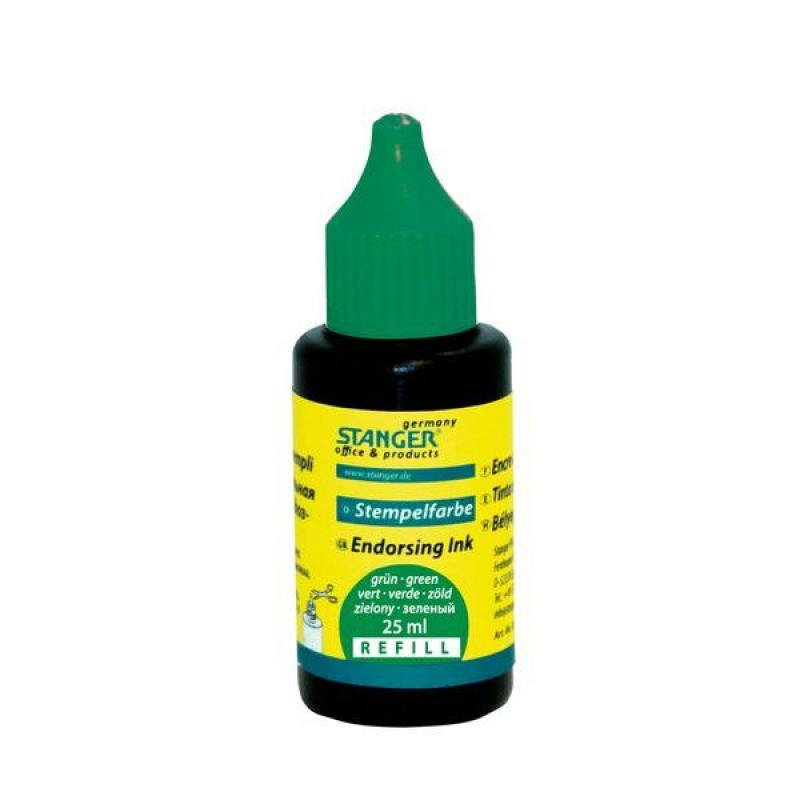 Штемпельная краска, зеленая, 25 мл 018-602 kads bop015 018 clownfish