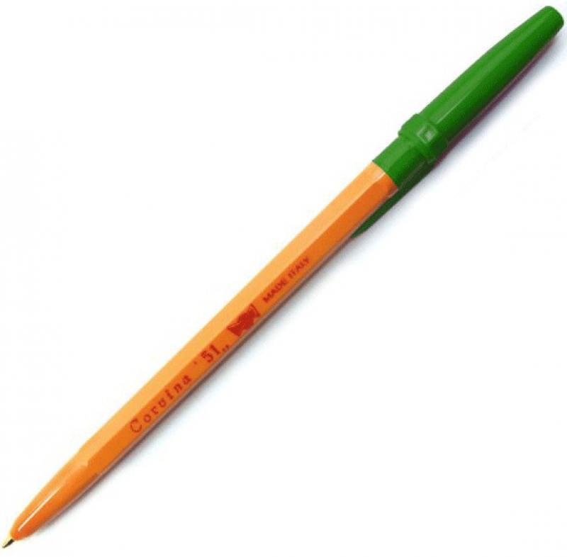 Шариковая ручка Universal Corvina 51 зеленый 40163-G/З 40163-G/З шариковая ручка автоматическая senator trento синий 2105 з 2105 з