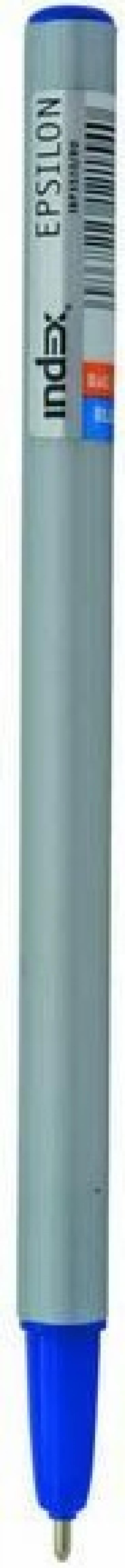 Шариковая ручка Index Epsilon синий 1 мм IBP3510/BU IBP3510/BU шариковая ручка index epsilon черный 1 мм ibp3510 bk