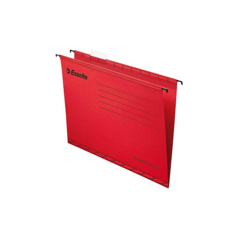 Подвесная папка ESSELTE PENDAFLEX ECO, ф.А4, красный, цена за 1шт папка вкладыш esselte 56171
