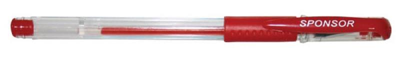 Гелевая ручка SPONSOR SGP02/RD красный 0.5 мм SGP02/RD