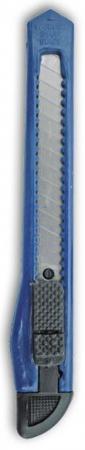 Резак канцелярский малый, 9 мм, инд пакет с подвесом SC019 резак канцелярский большой 18 мм мет направляющие винт фиксатор инд пакет с подвесом sc020