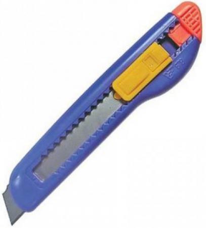 Резак канцелярский большой, 18 мм, инд пакет с подвесом SC008 deli 8015 стальной резак резак резак резак 250 мм 250 мм