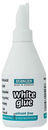 Клей ПВА универсальный, STANGER, 100 мл 18-02-060 клей карандаш stanger 18 2 02 10 гр