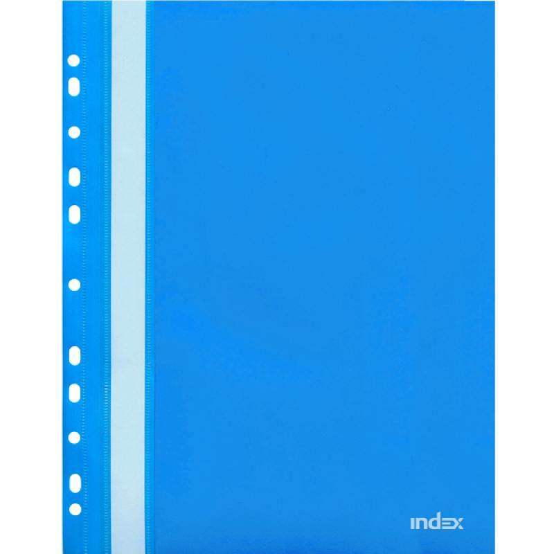 Папка-скоросшиватель с европланкой, А4, синяя 319/04/R папка скоросшиватель с европланкой ф а4 синяя