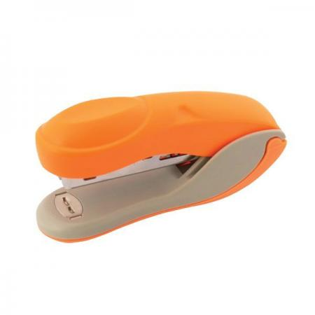 Степлер COLOURPLAY, скоба №10, на 15 листов, пластиковый корпус, неоновый оранжевый дырокол index colourplay на 10 листов пластиковый корпус неоновый зелёный icp110 gn