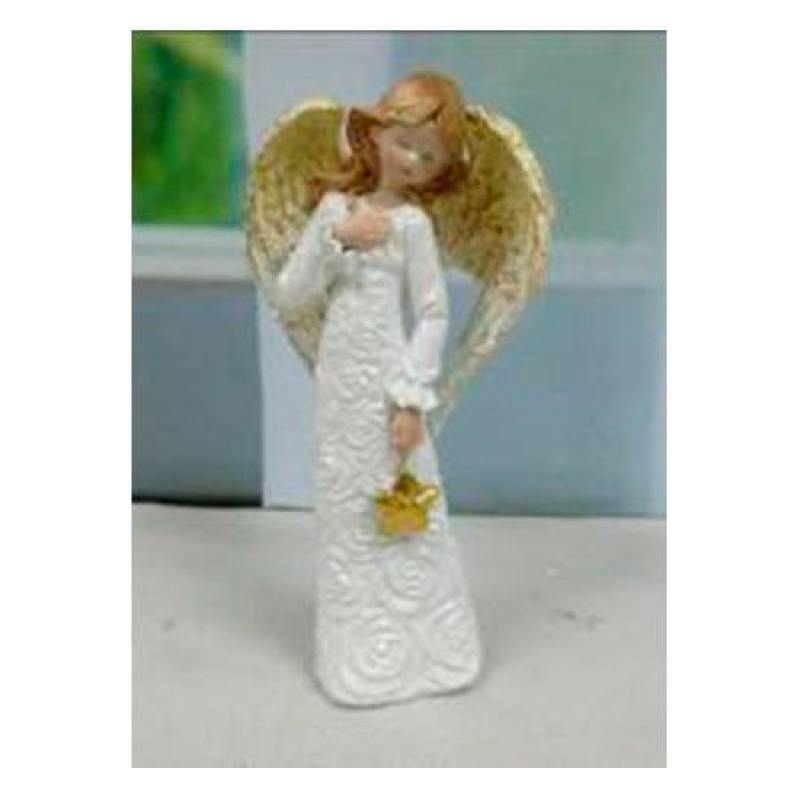 Сувенир АНГЕЛ, 18,5 см, полирезин сувенир orient an01 ангел цв стекло высота 6см зеркальная подставка