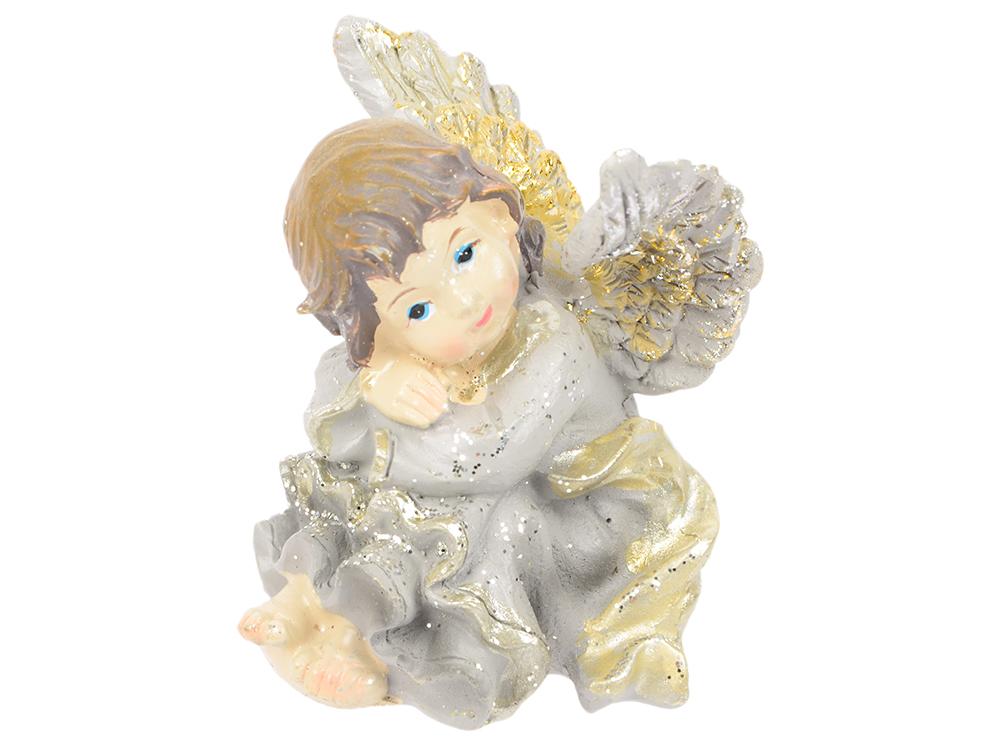 Сувенир АНГЕЛ, 6 см, полирезин сувенир orient an01 ангел цв стекло высота 6см зеркальная подставка