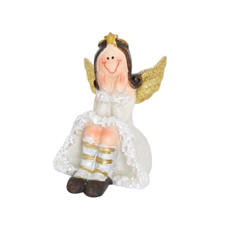 Сувенир АНГЕЛ, 6*8 см, полирезин, 2 вида сувенир orient an01 ангел цв стекло высота 6см зеркальная подставка