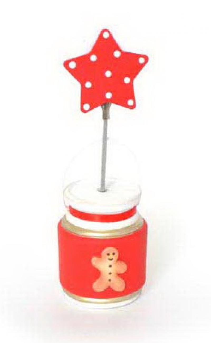 Держатель для визиток БАНКА ПЕЧЕНЬЯ, 1 шт, 4*11 см, керамика, в пакете