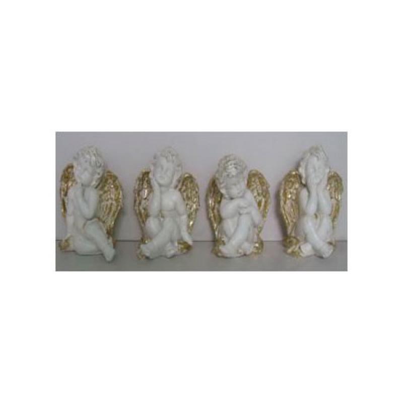 Сувенир АНГЕЛ, 11,5*9,5 см, полирезин, 4 вида сувенир orient an01 ангел цв стекло высота 6см зеркальная подставка